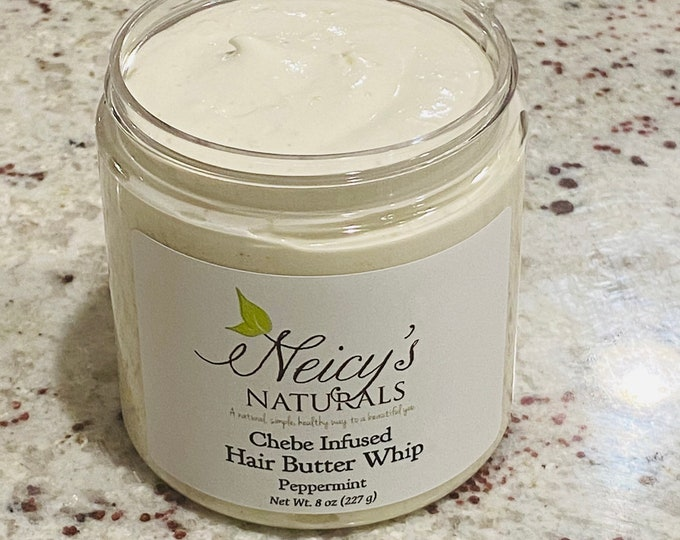 Chebe Infused   Hair Butter Whip   Choose your scent   Natural Hair Care   Moringa Seed Oil   Dry Hair   Shea Butter   Chebe Infused Oil  