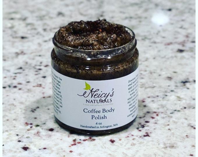 Coffee Body Polish   Natural   Body Scrub   Exfoliant
