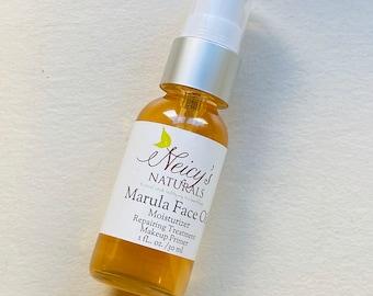 Marula Face Oil | | 1 oz bottle | Natural Moisturizer| Anti-aging | Unrefined | Cold pressed