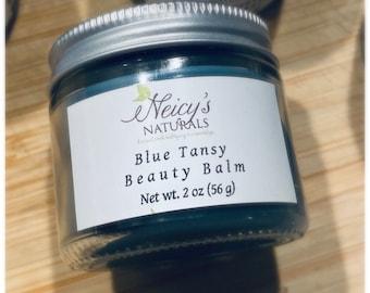 Blue Tansy| 2 oz. jar |  Beauty Balm | Salve | Moisturizer | Essential Oil