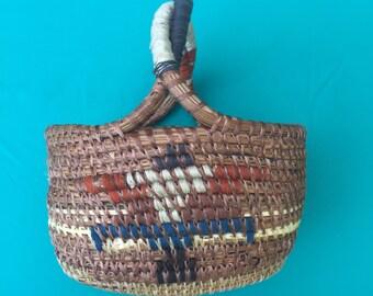Eagle Twisted Handle Trinket Basket
