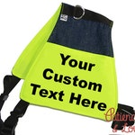 Custom Dog Vest, Butterfly shape, Select your own size Custom Light weight vest - cape, Custom size, pocket, Custom Embroidery offered