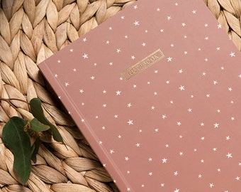 Stars Notebook, Stationery for Him, Brown Journal, School Stuff, Writing Dairy, Minimalist Notebook, Notebook Journal, Reporter Notebook