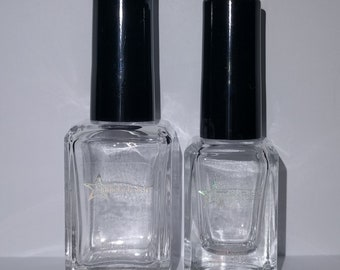 Crystal Top Coat - Clear, Quick Drying, QDTC, Indie Nail Lacquer, Polish, Starlight and Sparkles