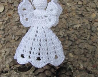 Crochet angel Christmas ornament Home decor A18