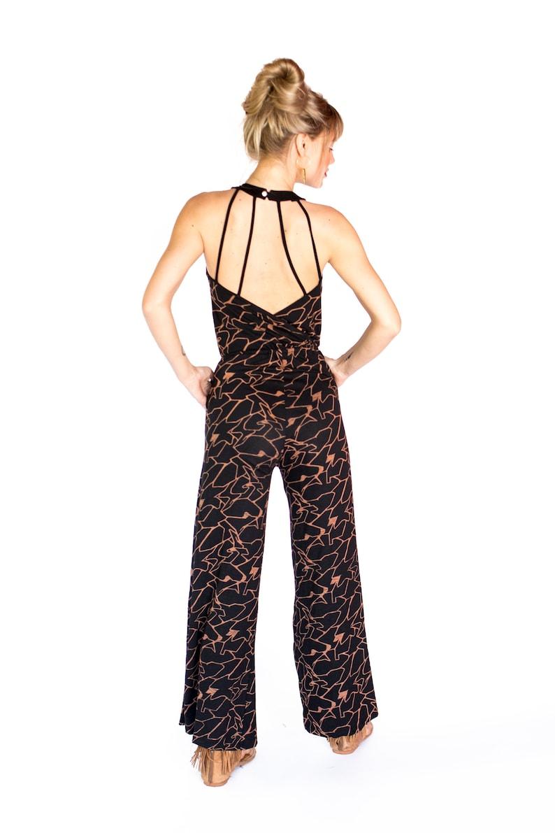Jumpsuit Overall Women Jumpsuit Womens Romper Printed Jumpsuit Jumpsuit Romper Romper Printed Romper,Streetwear Sleeveless Black Wear