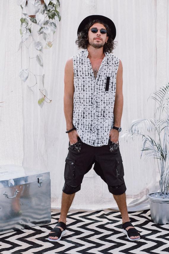 Men's Clothing Shorts Shorts Boho Men's Urban Cotton Shorts Casual Pants Hipster Mens Fashion Men's Clothing Shorts Men's Pants Gray 6q4aw5