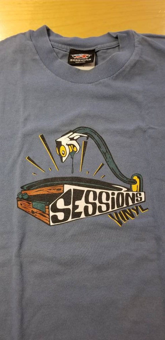 1990s Sessions Clothing T-shirt