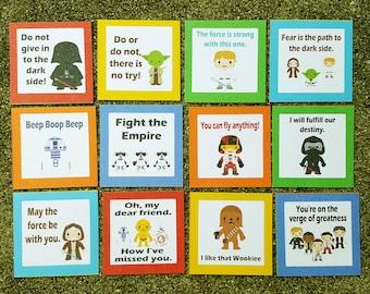Lunch Box, Star Wars, Educational Toys, Kids LunchBox, Star Wars Lunch, Kids Lunch, Star Wars Note, Lunch Note, Back to School, Kindergarten