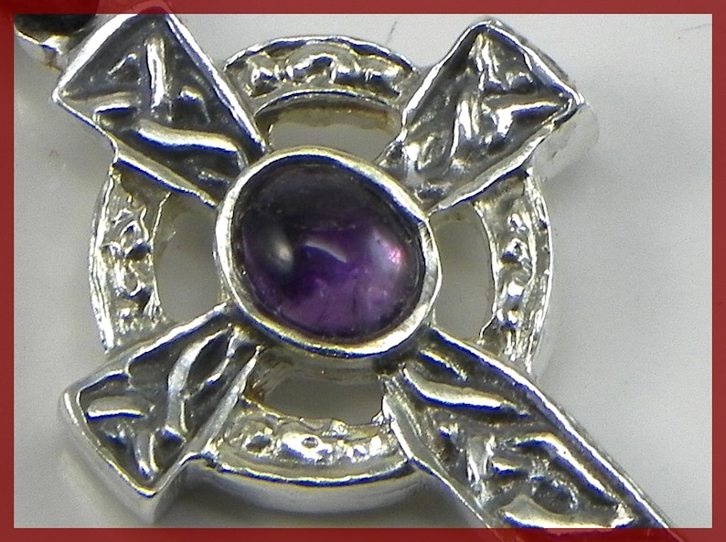 Celtic Cross pendant 925 silver made in italy