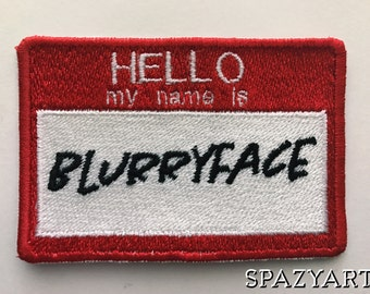 my name is blurryface patch