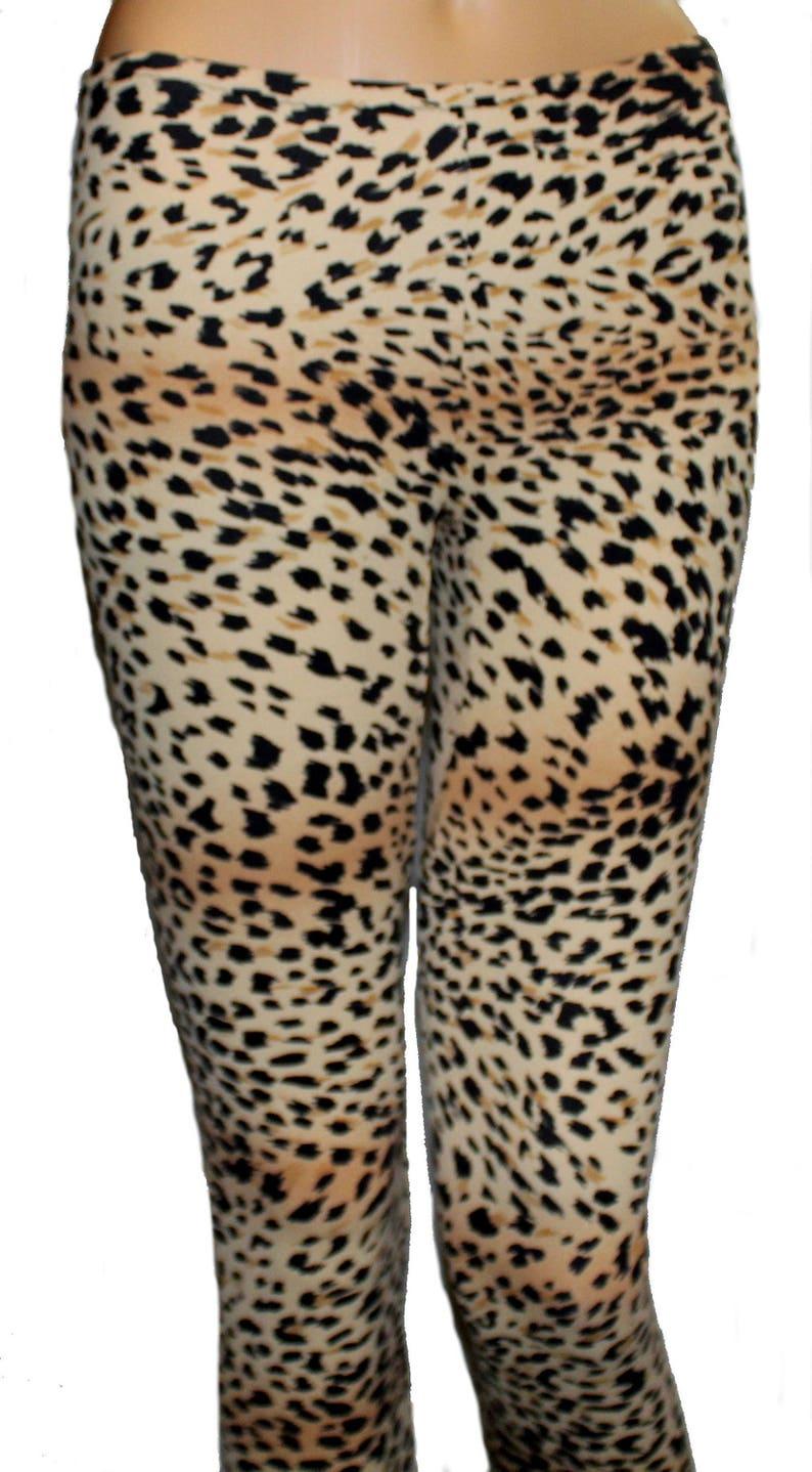 1df9ff0daf6768 Youth Cheetah Leggings Leopard Leggings Printed Leggings | Etsy