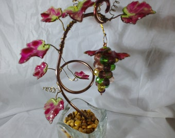 Beaded grapevine, great Father's day gift