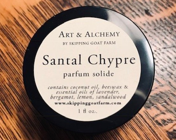 Santal Chypre Sandalwood and citrus solid perfume 1 oz