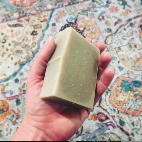 Peppermint Rosemary Goat Milk Soap