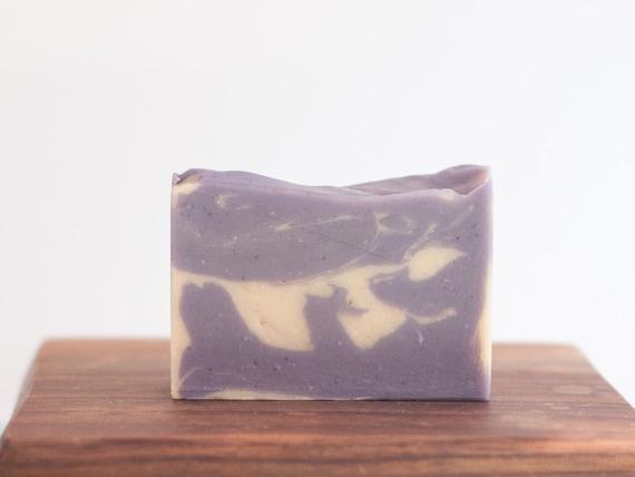 Lavender goat milk soap