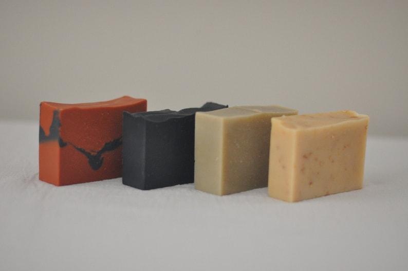 Bulk discount: 3 for 25 goat milk soaps image 0