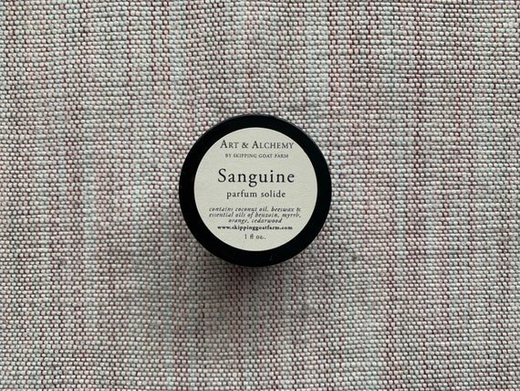 Sanguine all natural solid perfume