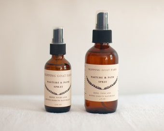 Pasture and Path natural tick and insect repellent