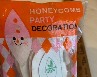 Honeycomb Bells Party Decoration Vintage 2 Packages
