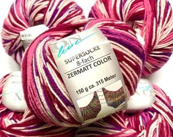 CLEARANCE Violet Single Ply Merino Silk 450 yards