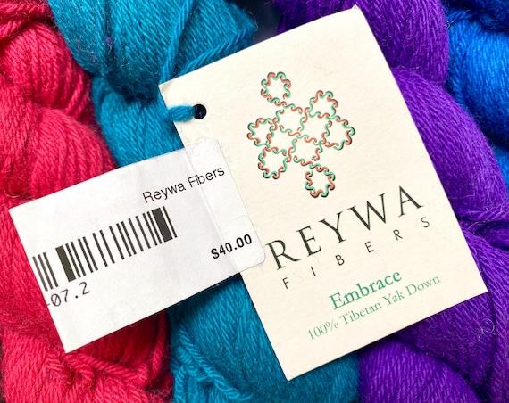 30/% Off Yak Down Reywa Embrace DK Yarn 210 Yards
