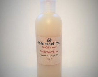 All Natural Facial Toner with Bee Pollen