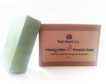 Manly Man Pumice Soap