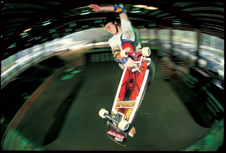 dda30e45f9 Jeff Grosso Skateboard Photograph 18x24 inch Color Photo