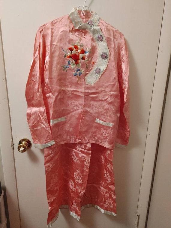 Japanese Silk Pajamas