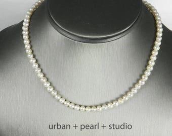 6e96cc3ecc2b27 Tiny Pearl Necklace | 15