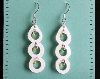 Handmade Pea Pod Earrings