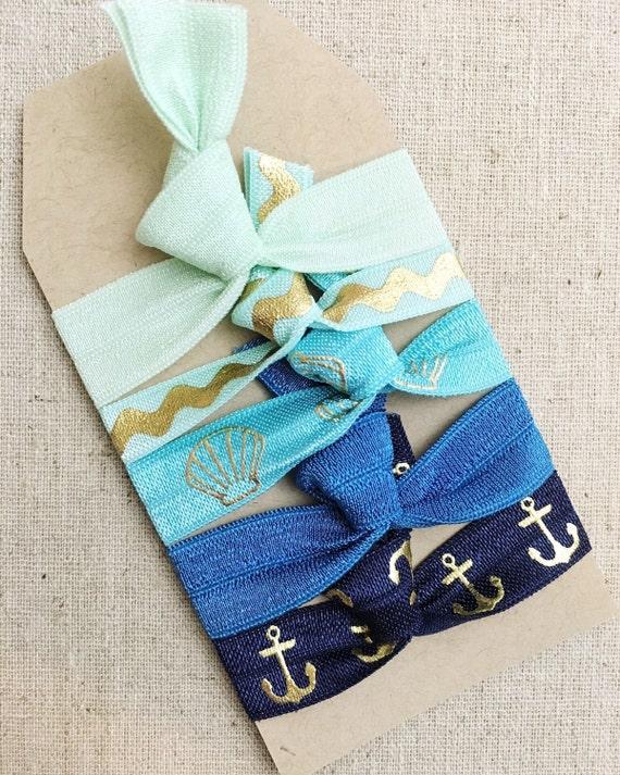 Seaside Gift Set of 5 Perfect Hair Ties  8c44a5559b8