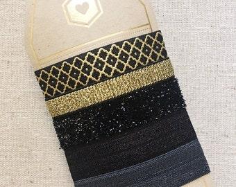 Black Tie - Gift Set of 5 Perfect Hair Ties