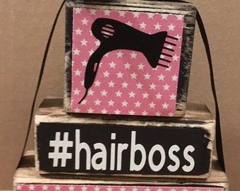 Hair Stylist Decor Etsy
