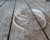 Bangle bracelets set of 3...
