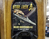 Star Trek Beer Opener Plaque,Father's Day Beer Gift,Wall Mounted Bottle Opener,Bar Decor,Custom Bottle Opener,Man Cave Gift,Beer Lover Gift