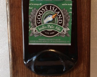 Goose Island India Pale Ale Beer Opener Plaque
