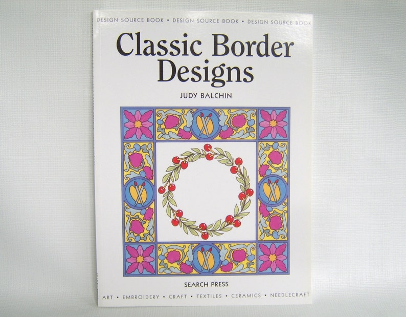 Classic Border Designs Design Source Book Art Book Pattern Etsy