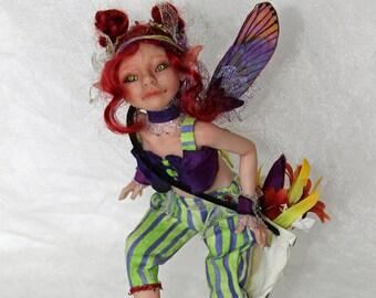 OOAK fantasy/fairy art doll - POPPY