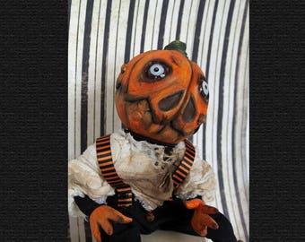 Ichabod, OOAK art doll