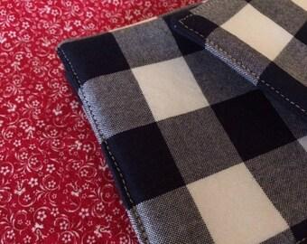 Buffalo Gingham Check Reversible Fabric Cloth Coasters Mug
