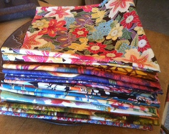 Restaurant, Bulk Napkins, Cloth Napkins, Set of 20, Eclectic Pop of Color, Eco Friendly, Events, by CHOW with ME
