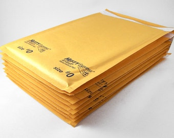 24 - Kraft Bubble Mailer 6 x 10 Size 0 Padded Mailer