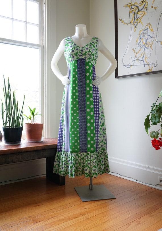 Vintage 1960s Liberty House Dress / Princess Kaiul