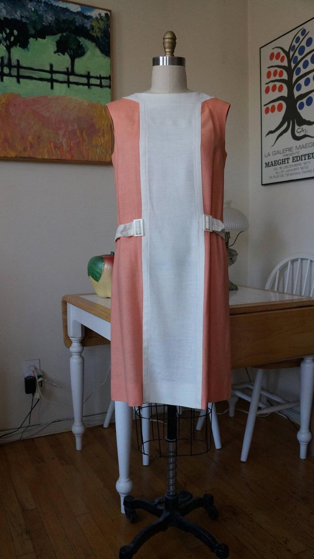 3d9ddb4764 Vintage 1960s R K Dress   1960s Mod Dress Space Age Color