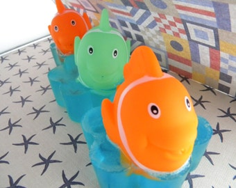 Fish squirt toy soaps / Squirties bath toy/ Nemo