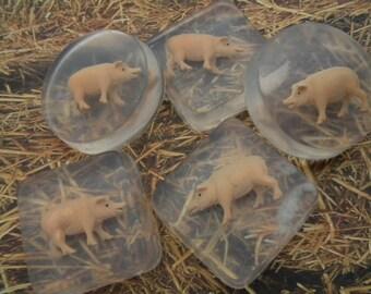Pig soap / Pig soap party favors / Piglet