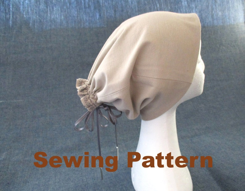 a5d5c396989 Jersey dreadlock beanie sewing pattern pdf dreads tube