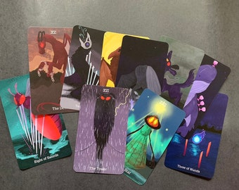 Cryptid tarot deck 2nd Edition